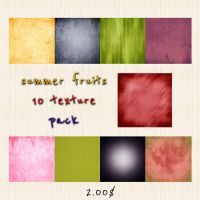 Summer Fruits Texture Pack by DesiraeR