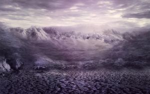 Fantasy mountain BG Stock  2 by irinama