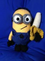 Minion and Banana! by Atruyis