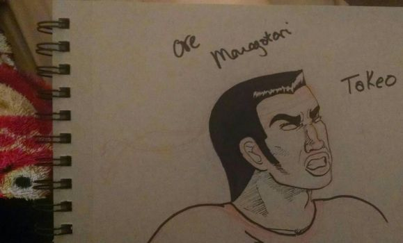 Inktober  Day 6 Ore Monogatari fanart by BriEva13