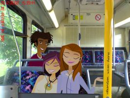 Wyatt,Jen,Nikki--On The Ride Home with Me by daanton