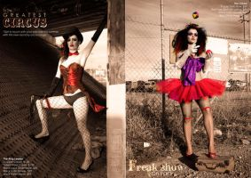 Circus Side Show Freaks by matteog89