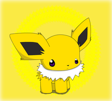 Chibi Chibi Jolteon by PokeHihi