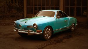 VW Karmann Ghia 3 by BlackLizard1971