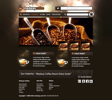 Medway Coffee Web Interface by MyLifer