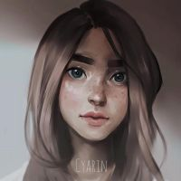 Portrait by Cyarin