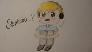 Pewdiepie Chibi by My-Life-In-Pictures