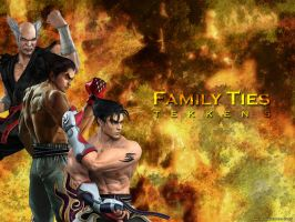 Tekken 5 Family Ties Wallpaper by Amedeo