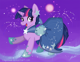 MLP - Twilight Sparkle Gala Revisited by caycowa
