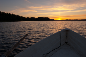 Midsummer boat trip I by Karelen