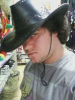 Party City Cowboy Hat by leo-darkheart