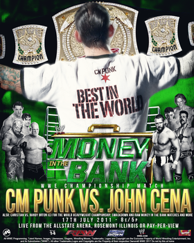 Custom Money in the Bank 2011 Cover by Ara-Designs