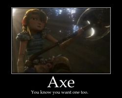 Axe by ShyViolet911