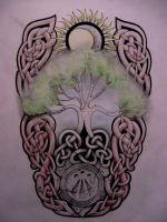 Tree of life tattoo design by Tattoo-Design