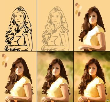 Dia Mirza process by Paganflow