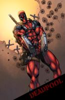 Deadpool by logicfun