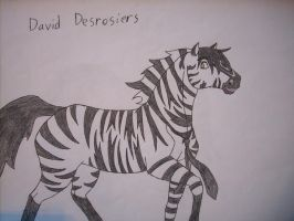 David Desrosiers as a...zorse? by FrodoFan4ever