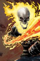Ghost Rider colors by RNABrandEnt