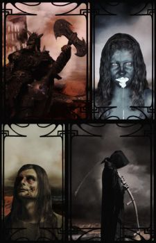 the four horsemen by wounderful
