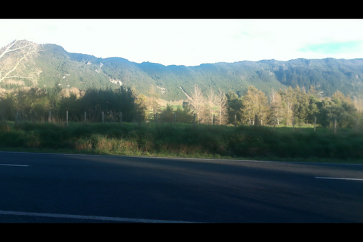 Paeroa Ranges in the afternoon by FightStorm