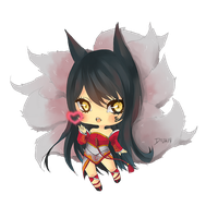 Ahri by Doza17