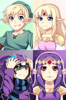 Zelda Print set by R0cket-Cat