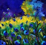 Blue poppies 6641 by pledent