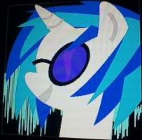 Black OPS 2 Emblem - Vinyl Scratch 2 by megaskull45