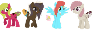 sugarbutts by StormChu