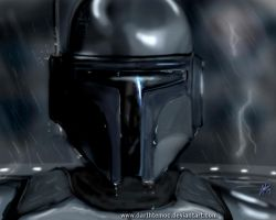 Jango Fett ( Duel on Kamino ) by DarthTemoc