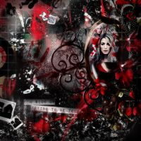 Vampire Gothic Collage by CoffeeByCoffee