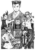 Dual Destinies Drawing by Escopeto