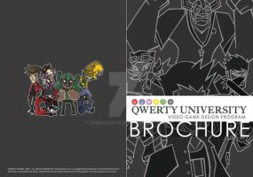 QWERTY Brochure Cover by chinaguy16