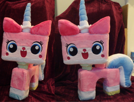 Princess Unikitty Plush! by Cryptic-Enigma