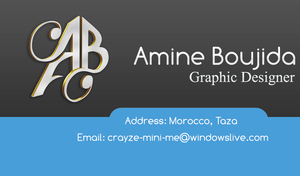 Business Card by Aminebjd