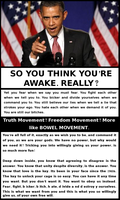 Do You Think YOU ARE AWAKE by paradigm-shifting