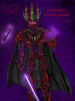 DESE Zeth the Damned - Colored by ZethHolyblade