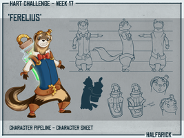 HART - Character Pipeline 2 by cheesefred