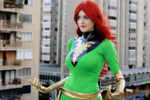 Phoenix (Jean Grey): Come and get me by muchiko1125