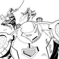 Hulk Buster and Friends by shaotemp