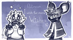 i wish for more Wishes (patreon banner v2) by geckoZen