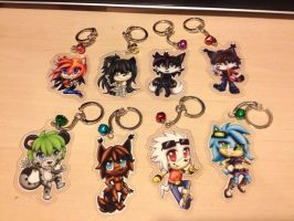 Keychain Batch 2 by Shannohn