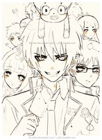 Ao no Exorcist - WIP by j-b0x