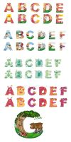 Customed Letters by defcon7a