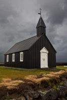 Budir Church, Iceland by cwaddell