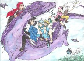 AB-Dragon Journey (WhytManga Tourn '12) Watercolor by PurpChan