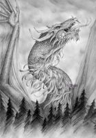 Norwegian dragon by xHideFromTheSunx