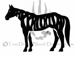 Appaloosa tattoo by ToxicDragonBlood