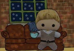 Patrick Jane Plush: On Set by StitchedAlchemy