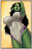 She-Hulk by HectorRubilar